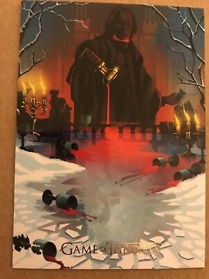 Game Of Thrones - Season 7: Beautiful Death Chase Card: Gold Parallel: Card Bd61