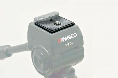 Quick Release Plate for Ambico V0554 Tripod with Fluid Type Head V-0554