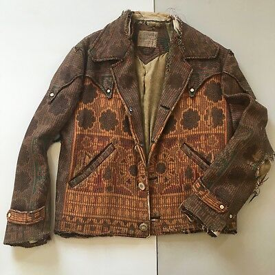 Nudies Rodeo Tailors / Vintage Blanket Ranch Jacket / Authentic   Super Rare Wow