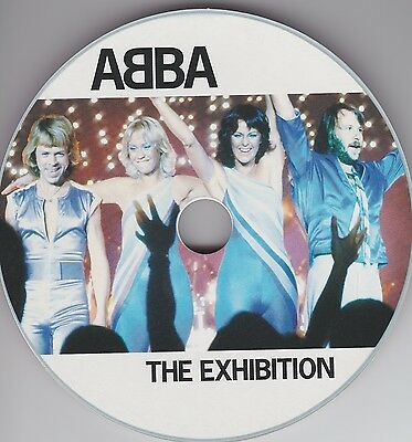 ABBA 'The Exhibition' Swedish CD Sized Promo Card MINT *Agnetha Postcard Museum