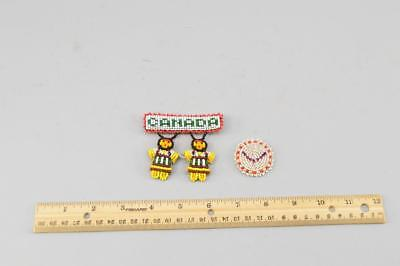 Vintage Native American Bead Work From Canada No Reserve