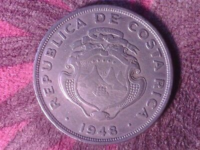 Costa Rica   2   Colones   1948  Th