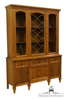 """High End Tuscan Italian Provincial 57"""" China Cabinet"""