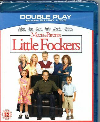 Meet The Parents: Little Fockers (Blu-ray + DVD)-Region B-Brand New-Still Sealed