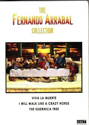Fernando Arrabal Collection, The (3 Discs) (Ltd Edition)-Region Free DVD-Bran...
