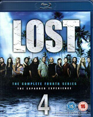Lost-The Complete Fourth Series-Blu Ray (5 Disc set)-Region B-Brand New