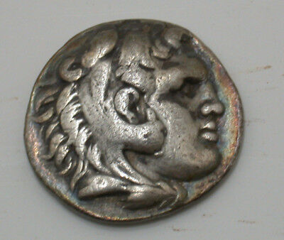 336 BC Alexander III, the Great Ancient Greek AR Tetradrachm