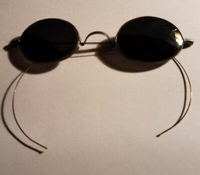 Genuine Vintage or Antique Sunglasses Optical - Lennon Steampunk 1920's to 1960'