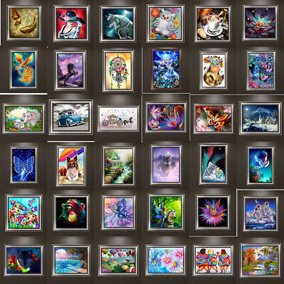 102 Style DIY 5D Diamond Embroidery Painting Cross Stitch Home Art Wall Decro
