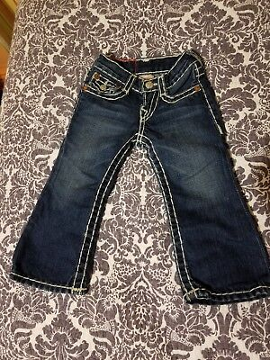True Religion Jeans Toddler Joey Size 2! ADORABLE! Pre-owned.