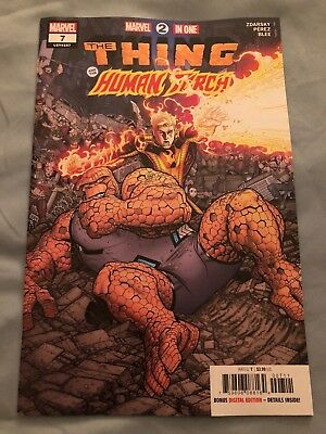 MARVEL 2-IN-ONE ANNUAL 1 Thing Iron Man Doom Fantastic Four Marvel Comics 2018