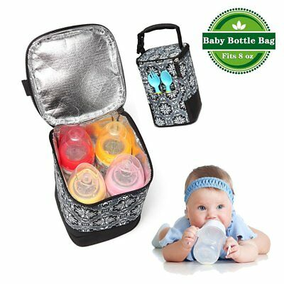 Breast Milk Cooler Bag Baby Bottle Insulated Storage Picnic Lunch Tote Box Pouch