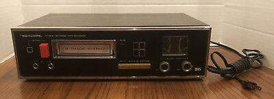 Realistic 8 Track Stereo Player Recorder: Model #tr-881 Working. Radio Shack