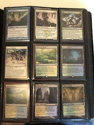Magic The Gathering MTG Modern Collection Fetch Shock Lands Planeswalkers Lot