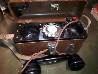 vintage gpo field line test telephone