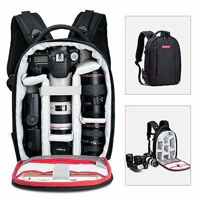 Beschoi DSLR SLR Camera Backpack Bag Case Large Capacity Waterproof for Canon