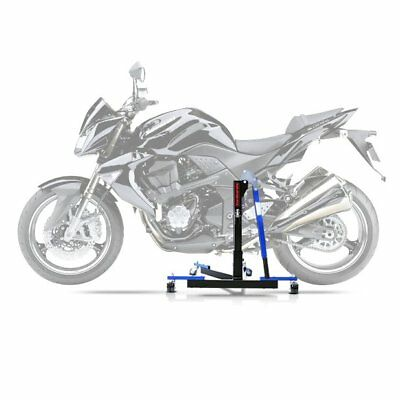 Center Spider Lift ConStands Power Evo Kawasaki Z 1000 07-09 blue Centre