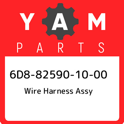 6D8-82590-10-00 Yamaha Wire harness assy 6D8825901000, New Genuine OEM Part