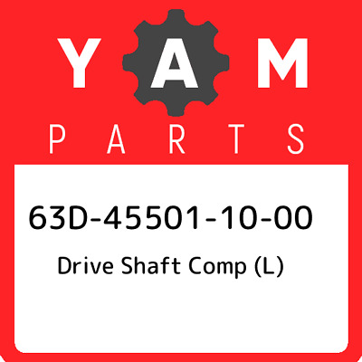 63D-45501-10-00 Yamaha Drive shaft comp 63D455011000, New Genuine OEM Part