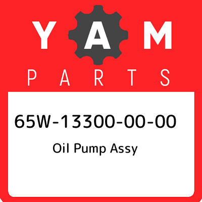 65W-13300-00  Yamaha Oil Pump Assy, New Genuine OEM Part