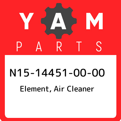 N15-14451-00  Yamaha Element, Air Cleaner, New Genuine OEM Part