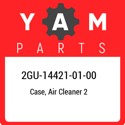 2GU-14421-01  Yamaha Case, Air Cleaner 2, New Genuine OEM Part