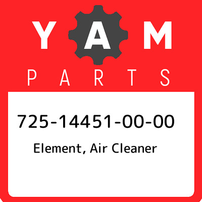 725-14451-00  Yamaha Element, Air Cleaner, New Genuine OEM Part