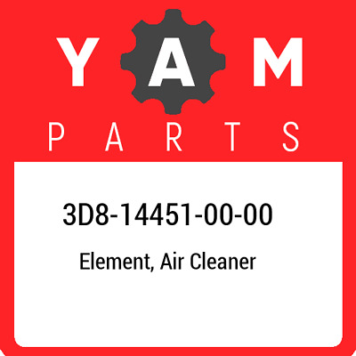 3D8-14451-00  Yamaha Element, Air Cleaner, New Genuine OEM Part