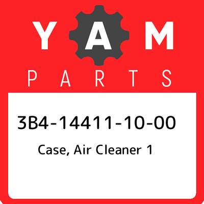 3B4-14411-10  Yamaha Case, Air Cleaner 1, New Genuine OEM Part