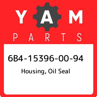 6B4-15396-00-94 Yamaha Housing, Oil Seal, New Genuine OEM Part