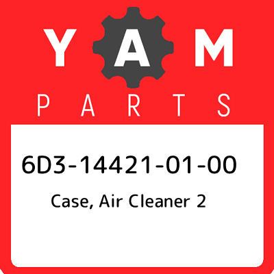 6D3-14421-01  Yamaha Case, Air Cleaner 2, New Genuine OEM Part