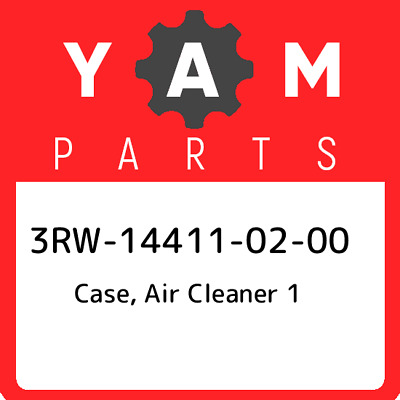 3RW-14411-02  Yamaha Case, Air Cleaner 1, New Genuine OEM Part