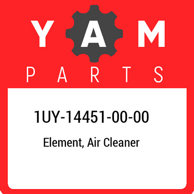 1UY-14451-00  Yamaha Element, Air Cleaner, New Genuine OEM Part