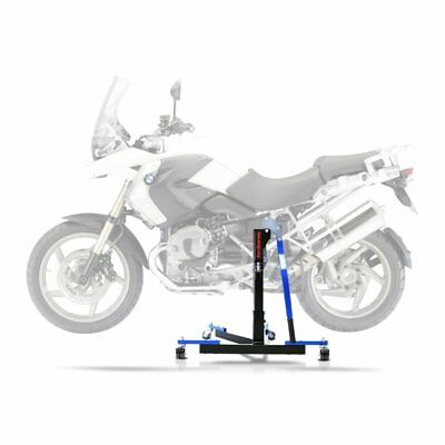 Center Spider Lift ConStands Power Evo BMW R 1200 GS 04-12 blue Centre