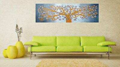 """47"""" Framed Tree Of Life abstract art Print  painting canvas dot landscape"""
