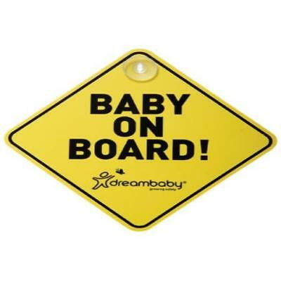 Dreambaby Baby On Board Sign MYTODDLER New