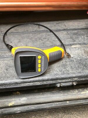 """3.5"""" LCD Inspection Camera Borescope Scope Endoscope Video Tube 6 LED With Cable"""