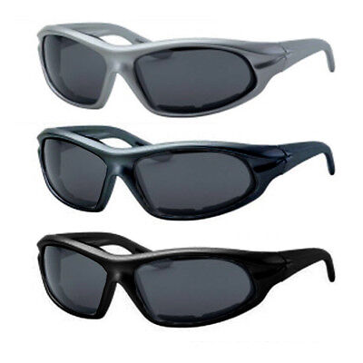 8851960b69c 2Pc Choppers Sport Wind Resistant Padded Motorcycle Biker Sunglasses Men  Women
