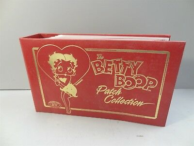 Betty Boop Patch Collection In Album - 29 Pages w/ Sealed Patches