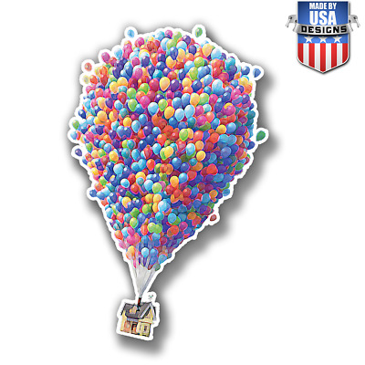 Up Pixar movies balloons Disney Sticker Decal Phone laptop Car Window art 20162