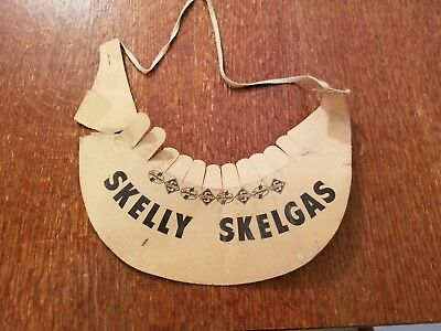 1960s GAS STATION rare SKELLY oil company skellgas give away premium visor