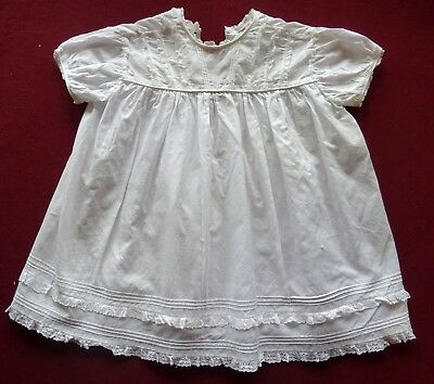 Vintage 'Happy Days' Christening Dress Gown