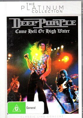 DEEP PURPLE-Come Hell or High Water DVD-Region Free-PAL-Brand New-Still Sealed