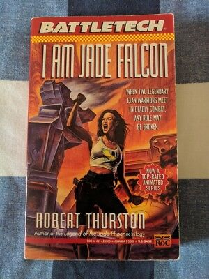 I Am Jade Falcon BATTLETECH by Robert Thurston Book Novel Mechwarrior