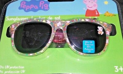 Peppa Pig PINK Girls Sunglasses 100% UV Protection Age 3+ FREE SHIP