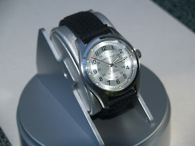 Hamilton Khaki field Silver Automatic  Big size 42mm.