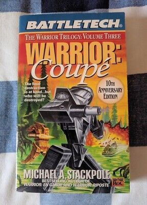 Warrior Coupe BATTLETECH by Michael A Stackpole Book Novel Mechwarrior