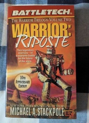 Warrior Riposte BATTLETECH by Michael A Stackpole Book Novel Mechwarrior
