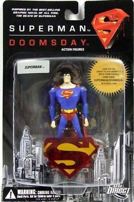 Death of Superman vs Dooomsday RED Superman costume 5in figure DC Direct TOys