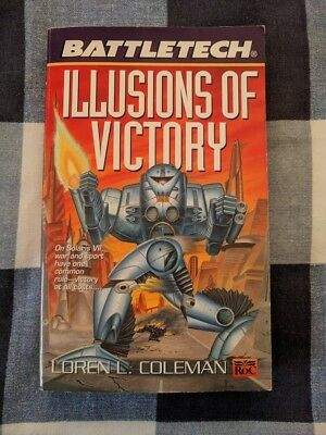 Illusions of Victory BATTLETECH by Loren L Coleman Book Novel Mechwarrior